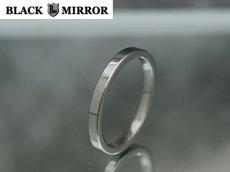 画像1: 3号から23号!BLACK MIRROR【ブラックミラー】タングステンリング 平内リング2mm幅リング (1)