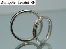 画像3: Zanipolo Terzini【ザニポロタルツィーニ】ステンレスリング 単品販売 (3)