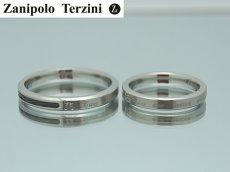 画像4: Zanipolo Terzini【ザニポロタルツィーニ】ステンレスリング 単品販売 (4)