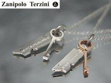 画像3: Zanipolo Terzini【ザニポロタルツィーニ】キーモチーフタグステンレスペンダント&チェーンセット (3)