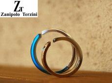 画像4: Zanipolo Terzini【ザニポロタルツィーニ】サージカルステンレスダイヤモンドペアリング (4)