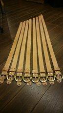 画像5: 栃木レザー【サドルレザー】プレーンベルト♪真鍮バックル★長さオーダー可能 28インチから49インチまで (5)