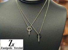 画像5: Zanipolo Terzini【ザニポロタルツィーニ】ステンレスリングバーペンダント&チェーン シルバー (5)