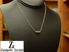 画像5: Zanipolo Terzini【ザニポロタルツィーニ】ステンレスシリンダーペンダント&チェーンセット ローズゴールド (5)