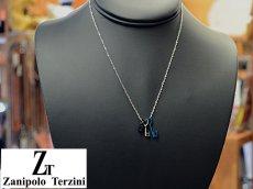 画像6: Zanipolo Terzini【ザニポロタルツィーニ】ステンレスキーモチーフペンダント&チェーンセット ブラック (6)