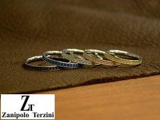 画像3: Zanipolo Terzini【ザニポロタルツィーニ】組み合わせ自由!サージカルステンレススリムペアリング (3)
