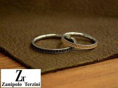 画像4: Zanipolo Terzini【ザニポロタルツィーニ】組み合わせ自由!サージカルステンレススリムペアリング (4)