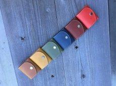 画像5: スタンダードな本革ボックスコインケース (5)