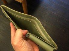 画像5: シンプルisベスト!スタンダード二つ折り財布!本革折財布 (5)