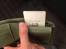 画像7: シンプルisベスト!スタンダード二つ折り財布!本革折財布 (7)