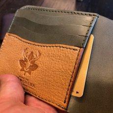 画像6: 【広島ジビエレザー】柔らかい鹿革★カード&札入れ二つ折り財布!キャッシュレス時代にオススメ (6)