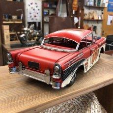 画像2: 【ブリキ自動車模型】アメリカンビンテージカー★レーシングカー (2)