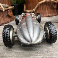 画像4: 【ブリキ自動車模型】F1ビンテージレーシングカー★シルバーサーキット (4)