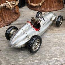 画像2: 【ブリキ自動車模型】F1ビンテージレーシングカー★シルバーサーキット (2)