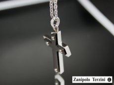 画像2: Zanipolo Terzini【ザニポロタルツィーニ】サージカルステンレスペンダントセットZTP1909BK (2)