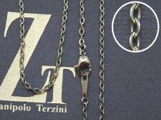 画像1: Zanipolo Terzini【ザニポロタルツィーニ】ステンレスチェーン カット小豆タイプ (1)