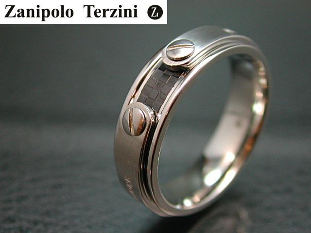 画像1: Zanipolo Terzini【ザニポロタルツィーニ】ステンレスリング ZTR1908 (1)