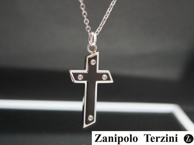 画像1: Zanipolo Terzini【ザニポロタルツィーニ】サージカルステンレスペンダントセットZTP1909BK (1)