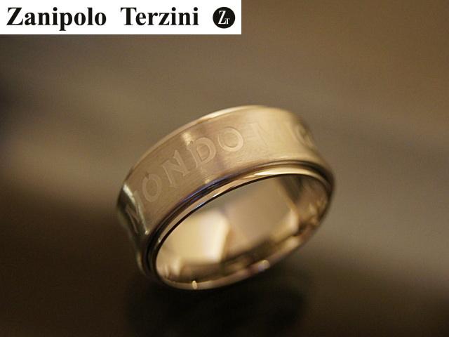 画像1: Zanipolo Terzini【ザニポロタルツィーニ】サージカルステンレスリング ZTR1911MEN (1)