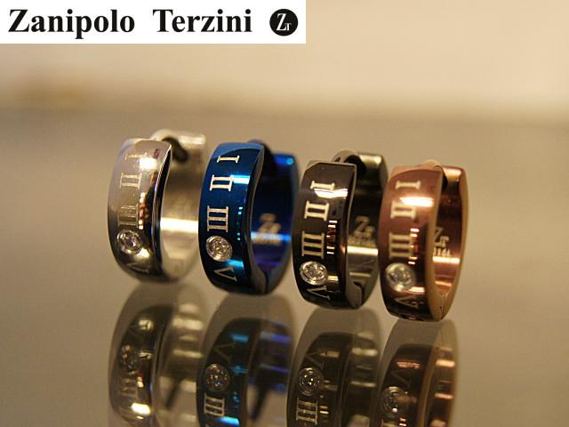 画像1: Zanipolo Terzini【ザニポロタルツィーニ】サージカルステンレスピアス ループピアスZTE1506 (1)