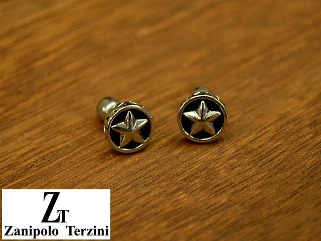 画像1: Zanipolo Terzini【ザニポロタルツィーニ】ステンレスピアス スターモチーフ (1)