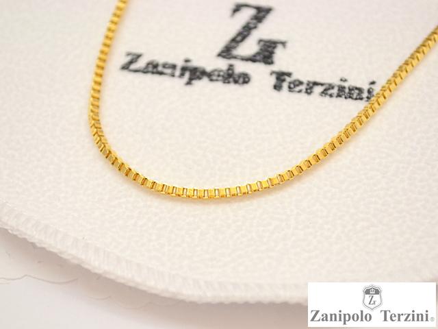画像1: Zanipolo Terzini【ザニポロタルツィーニ】ステンレスチェーン(ボックスタイプ)ZTC2215 (1)