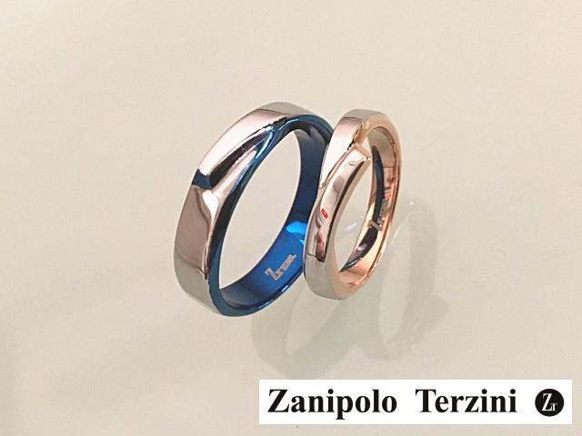画像1: BL&PG★サージカルステンレスペアリング【ザニポロタルツィーニ】Zanipolo Terzini☆ (1)