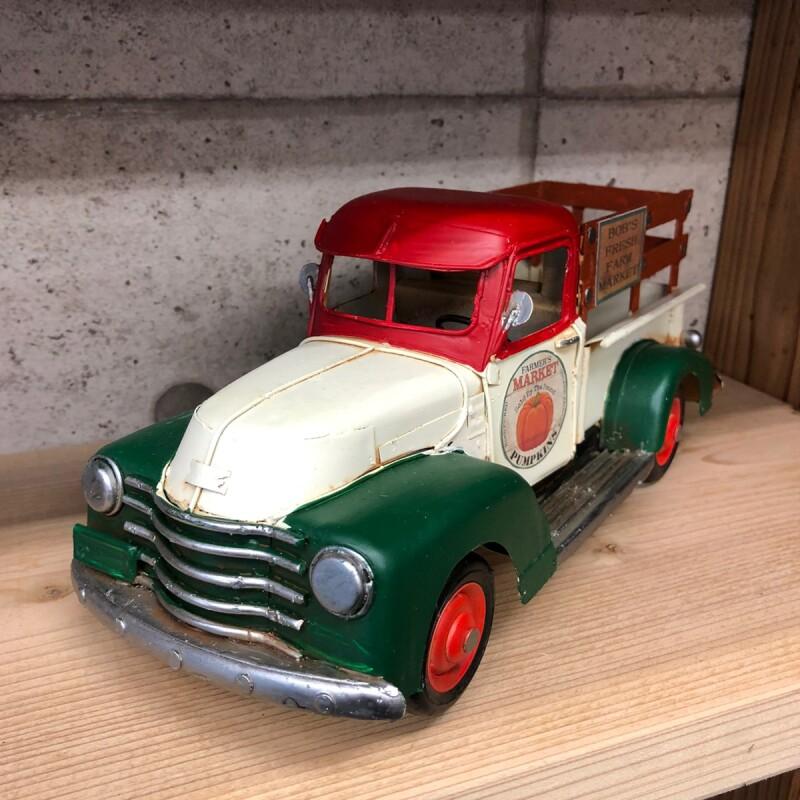 画像1: 【ブリキ自動車模型】ファーマーズトラック!クラシック (1)