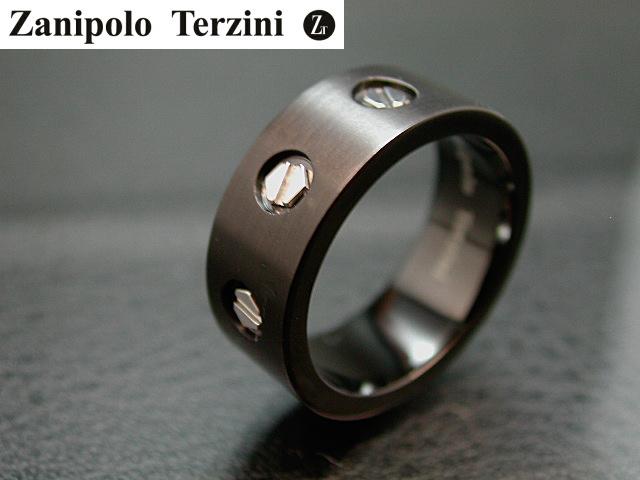 画像1: Zanipolo Terzini【ザニポロタルツィーニ】 ステンレスリング ZTR405 (1)